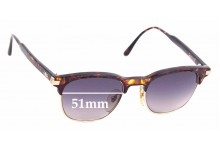 Sunglass Fix Replacement Lenses for Christian Dior 2664 - 51mm wide