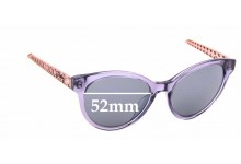 Sunglass Fix Replacement Lenses for Christian Dior Diorama7 - 52mm wide