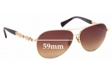 Sunglass Fix Replacement Lenses for Coach HC 7048 L107 - 59mm Wide