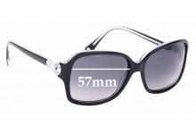 Sunglass Fix Replacement Lenses for Coach HC8009 Frances - 57mm Wide