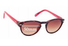 Sunglass Fix Replacement Lenses for Cole Haan C6089 - 50mm wide