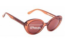 Sunglass Fix Replacement Lenses for Country Road Miranda - 49mm Wide