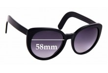 Sunglass Fix New Replacement Lenses for Cutler and Gross 1112 - 58mm Wide