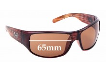 Sunglass Fix Replacement Lenses for Dirty Dog Snouter - 65mm Wide