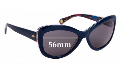 Sunglass Fix Replacement Lenses for Dolce & Gabbana DG3046 - 56mm Wide