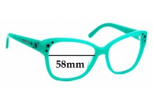 Sunglass Fix Replacement Lenses for Dolce & Gabbana DG 4124 - 58mm wide