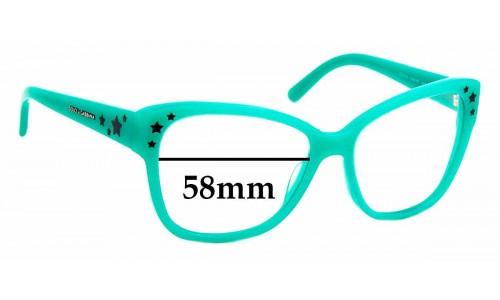 Sunglass Fix Replacement Lenses for Dolce & Gabbana DG 4124 - 58mm wide