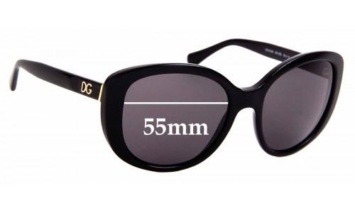 Sunglass Fix Replacement Lenses for Dolce & Gabbana DG4248 - 55mm Wide