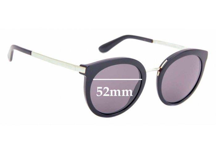 SFX Replacement Sunglass Lenses fits Dolce /& Gabbana DG6107 55mm Wide