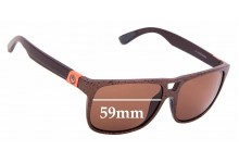 Sunglass Fix New Replacement Lenses for Dragon Roadblock - 59mm Wide