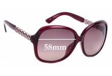 Sunglass Fix Replacement Lenses for Emporio Armani EA9548/K/S - 58mm Wide