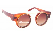 Sunglass Fix Replacement Lenses for Empresa Rybbon - 46mm Wide