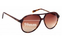 Sunglass Fix Replacement Lenses for Eye Buy Direct Jakarta - 59mm Wide
