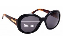 Sunglass Fix Replacement Lenses for Giorgio Armani AR 8001 - 56mm Wide