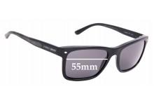 Sunglass Fix Replacement Lenses for Giorgio Armani AR 8028 - 55mm Wide