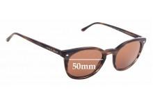 Sunglass Fix Replacement Lenses for Giorgio Armani AR 8060 - 50mm wide