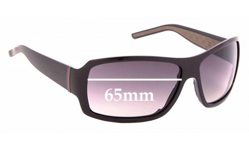Sunglass Fix Replacement Lenses for Gucci GG 1012/S - 65mm wide