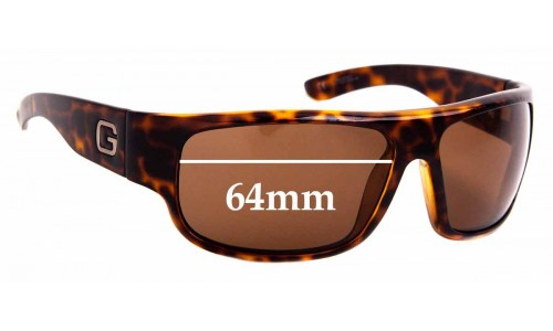Sunglass Fix Replacement Lenses for Gucci GG 1500/S - 64mm Wide