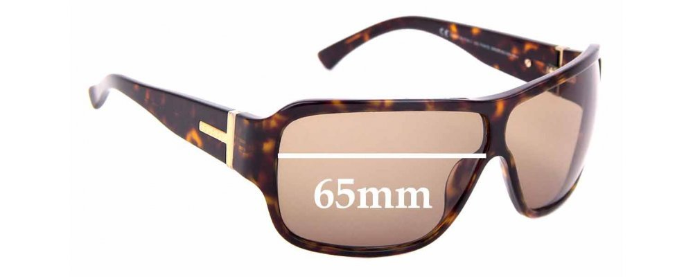 Sunglass Fix Replacement Lenses for Gucci GG1544/S - 65mm