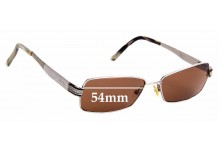 Sunglass Fix Replacement Lenses for Gucci GG 2750 - 54mm Wide