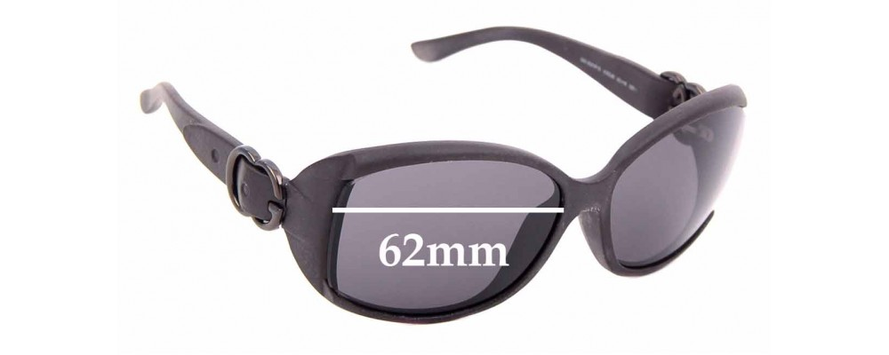 Sunglass Fix Replacement Lenses for Gucci GG 3521/F/S - 62mm wide