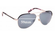 Sunglass Fix Replacement Lenses for Kate Spade Amarissa/S - 59mm Wide