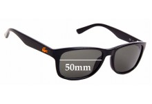 Sunglass Fix Replacement Lenses for Lacoste L3601S - 50mm Wide