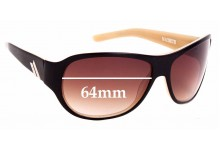 Sunglass Fix Replacement Lenses for Macbeth Metro - 64mm Wide