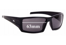 Sunglass Fix Replacement Lenses for Mako Attitude 9592 - 63mm Wide
