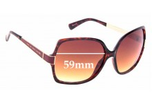 Sunglass Fix Replacement Lenses for Marc by Marc Jacobs MMJ 122/S - 59mm Wide