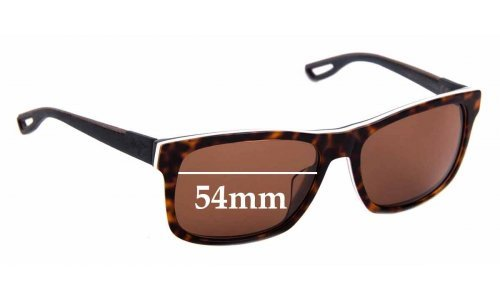 Sunglass Fix Replacement Lenses for Maui Jim MJ765 Chee Hoo! - 54mm Wide