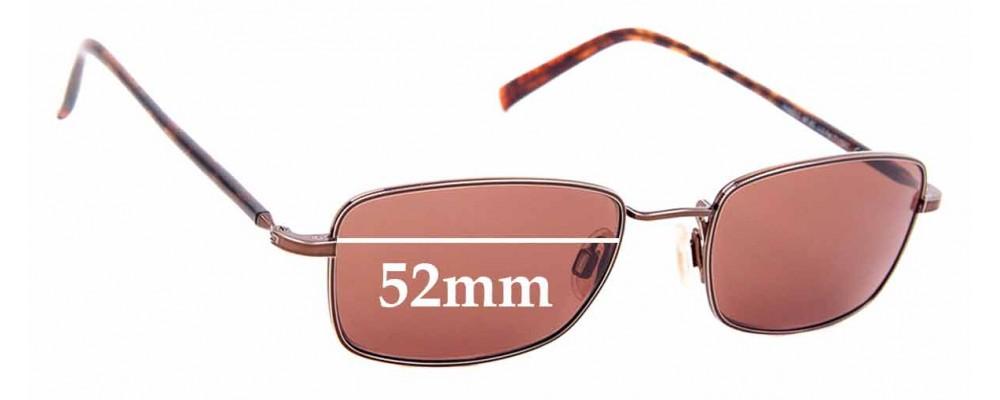 Sunglass Fix Replacement Lenses for Maui Jim MJ712 Paniolo - 52mm Wide