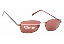 Sunglass Fix Replacement Lenses for Maui Jim MJ712 Paniolo - 52mm Wide