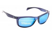 Sunglass Fix Replacement Lenses for Maui Jim Puhi MJ785 - 59mm Wide