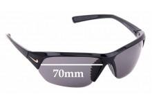 Sunglass Fix Replacement Lenses for Nike Skylon ACE EV0525 - 70mm Wide