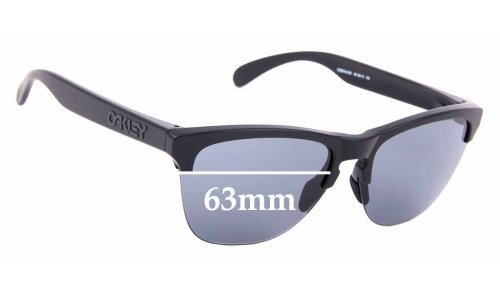 Sunglass Fix Replacement Lenses for Oakley Frogskins OO9374 - 63mm