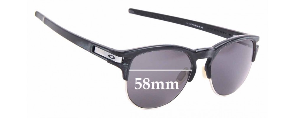 Sunglass Fix Replacement Lenses for Oakley Latch Key OO9394 - 55mm Wide