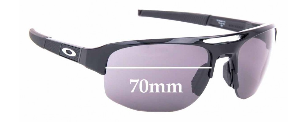 Sunglass Fix Replacement Lenses for Oakley Mercenary OO9424 - 70mm Wide
