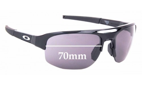 Sunglass Fix Replacement Lenses for Oakley Mercenary OO9424 - 70mm Wide