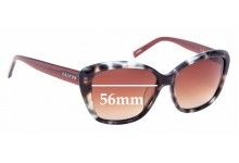Sunglass Fix Replacement Lenses for Oroton Ceres - 56mm Wide