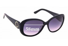 Sunglass Fix New Replacement Lenses for Oroton Class - 58mm Wide