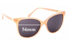 Sunglass Fix Replacement Lenses for Oroton Uma - 54mm Wide