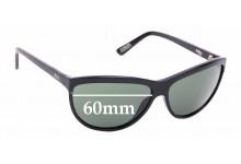 Sunglass Fix Replacement Lenses for Otis Milo - 60mm wide