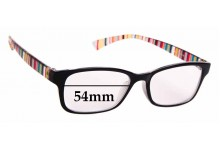 Sunglass Fix New Replacement Lenses for Paul Smith JD330 - 54mm Wide