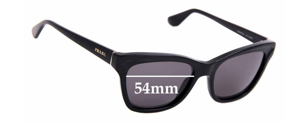 Sunglass Fix Replacement Lenses for Prada RAP6478AA - 54mm Wide