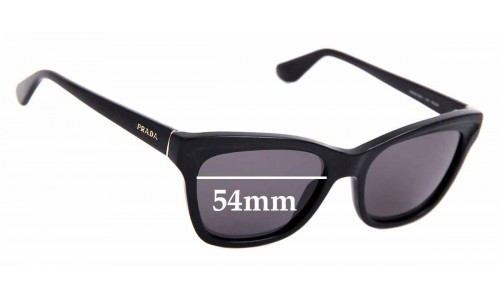 Sunglass Fix Replacement Lenses for Prada RAP6478AA - 54mm Wide