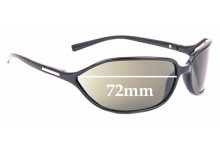 Sunglass Fix Replacement Lenses for Prada SPR 05E - 72mm Wide