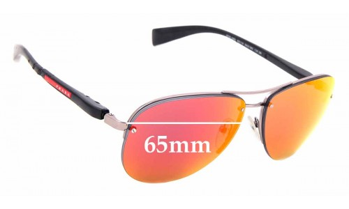 Sunglass Fix Replacement Lenses for Prada SPS 56M - 62mm wide