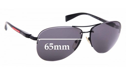 Sunglass Fix Replacement Lenses for Prada PS56MS - 65mm wide