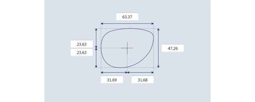 Sunglass Fix Replacement Lenses for Prada SPR62M - 63mm Wide